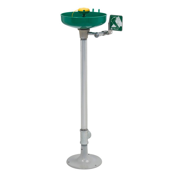 Haws 7261-7271 AXION MSR Pedestal Mount Eye/Face Wash