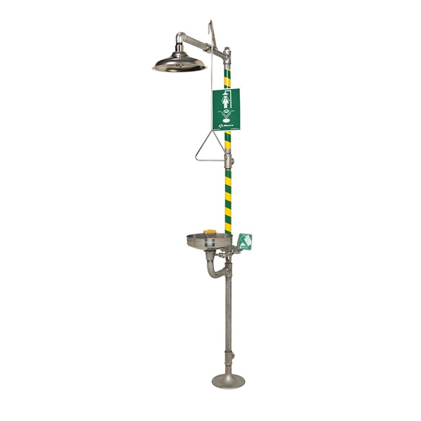 HAWS 8330 AXION® MSR Combination Corrosion Resistant Shower and Eye/Face Wash